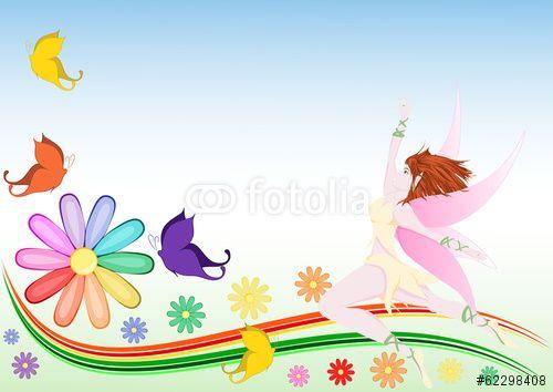 Spring color background