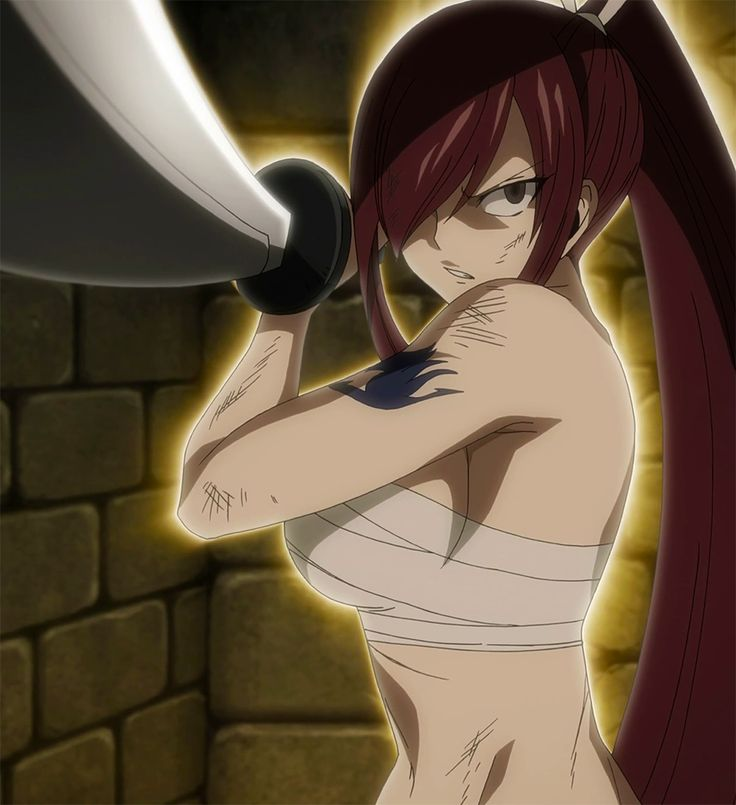 Erza wifu!!!!  Damn look at her being sexy and mad and shit damn!!!