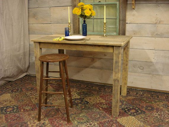 Farmhouse Counter Height Table 48 x 30 x 36H by DriftwoodTreasures, $429.00