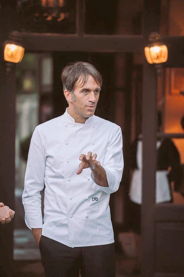 Chef Davide Oldani at Palazzo Lana, Berlucchi Wineries, Franciacorta, Italy. #BerlucchiMood