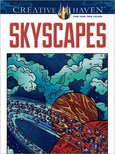 Creative Haven SkyScapes Coloring Book