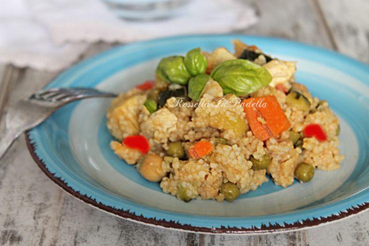 Cous cous di pollo e verdure / ROSSELLA IN PADELLA