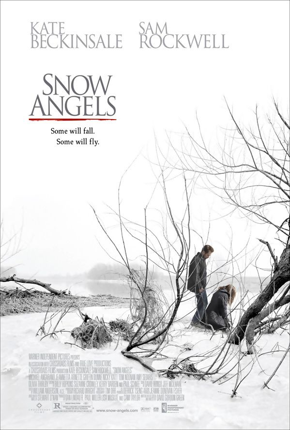 Snow Angels is a 2007 drama film starring Sam Rockwell and Kate Beckinsale. It was directed by David Gordon Green. The film premiered in the dramatic competition at the 2007 Sundance Film Festival. It is a character driven film centered on several characters dealing with loss of innocence in a small town. Snow Angels was released on 7 March 2008. Plot: A drama that interweaves the life of a teenager, with his old baby sitter, her estranged husband, and their daughter.