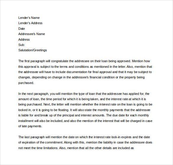 Fresh Commintment Letter Sample For You Lettering Letter Sample