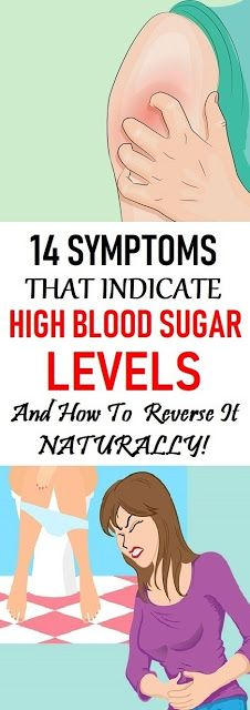14 Symptoms That Indicate High Blood Sugar Levels And How To Reverse It Naturally!