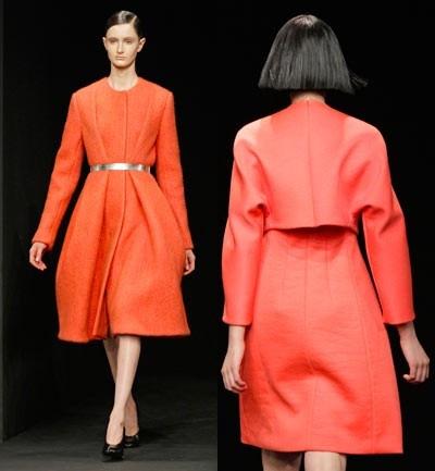 Calvin Klein, Francisco Costa, el diseñador brasileño de la marca Calvin Klein aposto por Naranjas y rojos