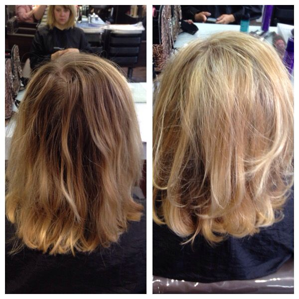 Half head of highlights to brighten up for summer!  Happy with the result just need to practise on timing now...
