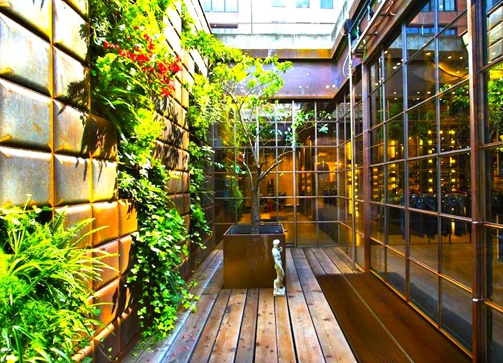 135 best images about vertical gardening on pinterest for Courtyard landscaping ottawa