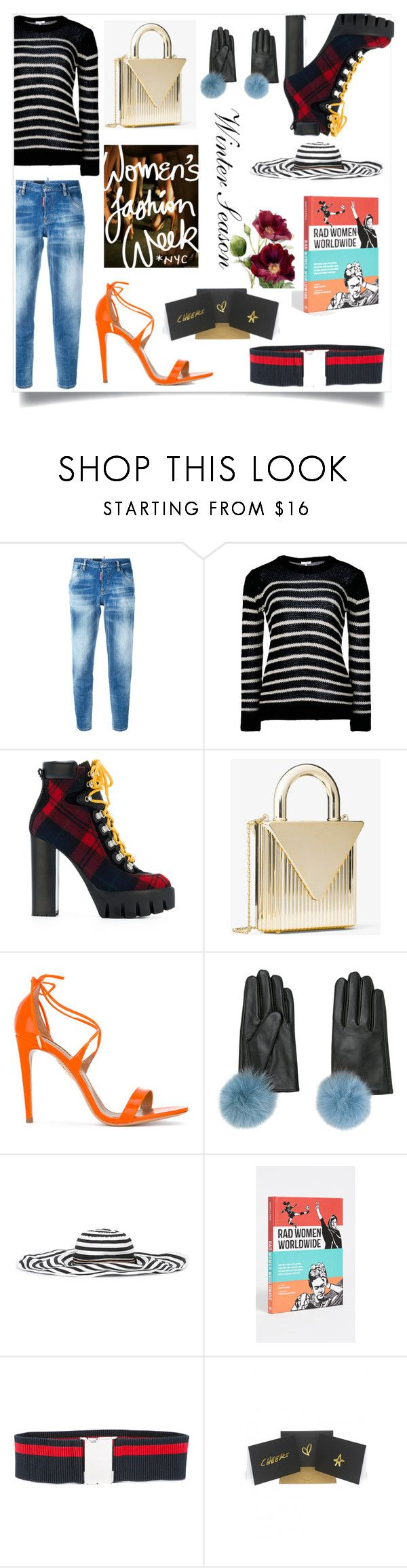 """Winter beauty"" by gloriaruth-807 ❤ liked on Polyvore featuring Dsquared2, IRO, Aquazzura, Missoni and Terrapin Stationers"