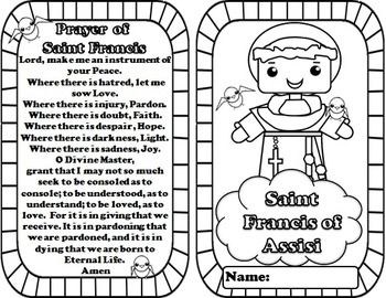 saint francis preschool 1025 best images about catholic crafts amp coloring on 613