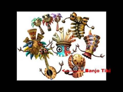 c4292557be9 Donkey Kong Country Returns - All Boss Tiki Intro Music (Without Noises) -  YouTube