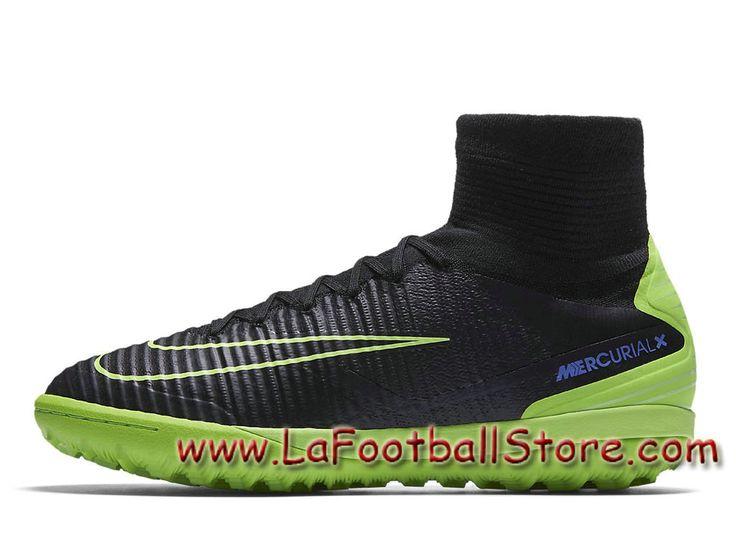 Nike MercurialX Proximo II TF Chaussure de football pour surface  synthétique pour Homme Noir Bleu souverain