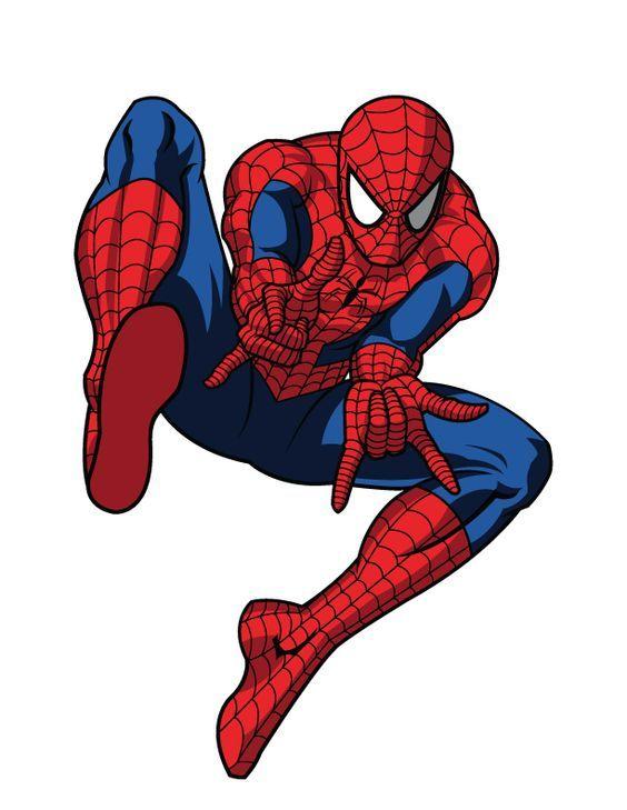 Вафельные картинки человек паук на пряники