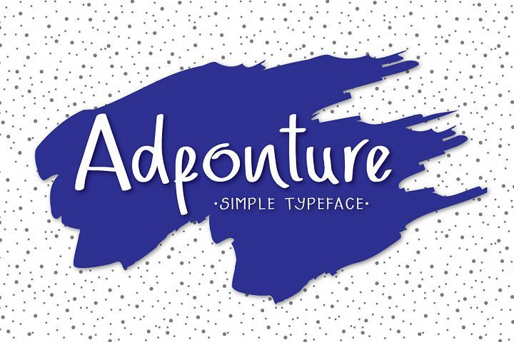 Adfonture Typeface from FontBundles.net