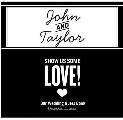 Guest Book Ideas « David Tutera Wedding Blog • It's a Bride's Life • Real Brides Blogging til I do!