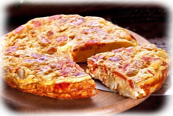Tortilla Primavera - Cocina con los Rolo