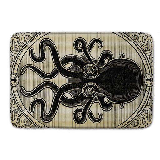 Octopus Doormat Indoor Coral Anti-slip Rug Carpet Floor Pad Outdoor Mat Bathmat #Unbranded #Nautical