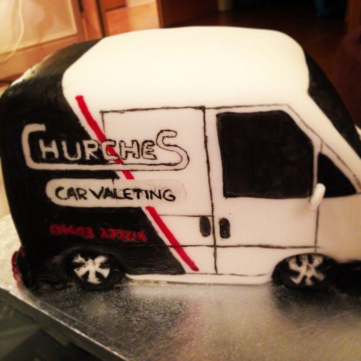 Madeira van cake for Churches car valeting