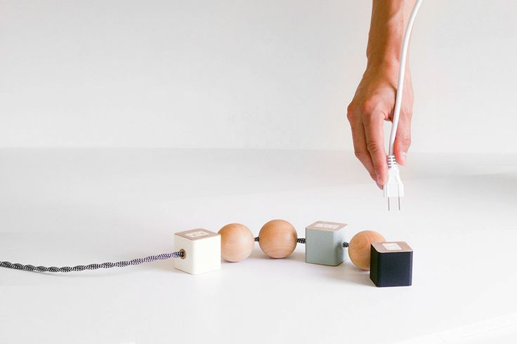 """Okumhas reinvented the common power cord with their latest project, the """"Oon"""". Okum designtheir unique reinterpretations of everyday objects in a quietLos..."""