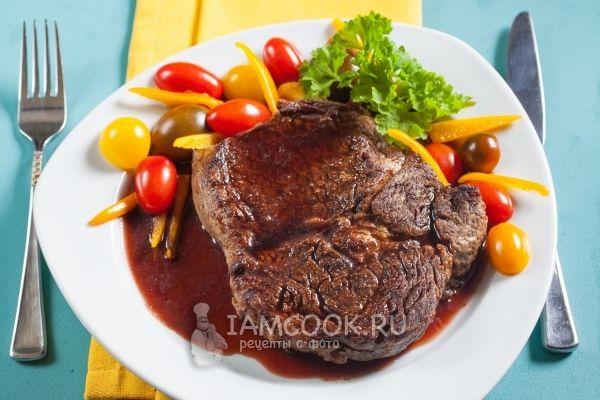 Фото соуса для стейка из говядины
