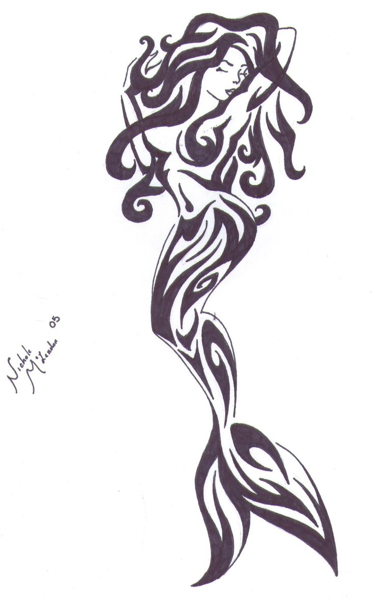 mermaid tatoos | Mermaid Tattoo by ~RazorSharp92788 on deviantART