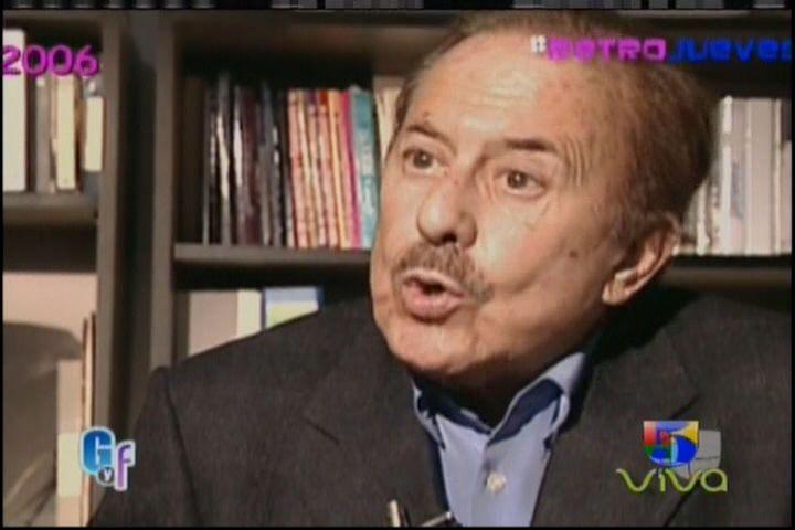 El Gordo Y La Flaca Presenta Los Últimos Días De Luis Miguel Con Su Padre