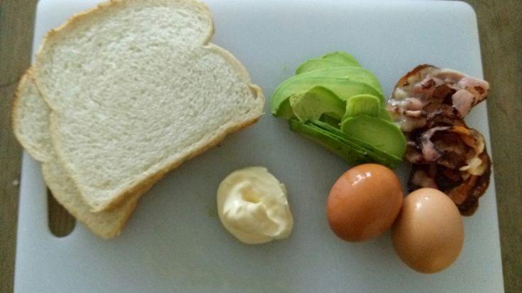 Avocado - Ei sandwich