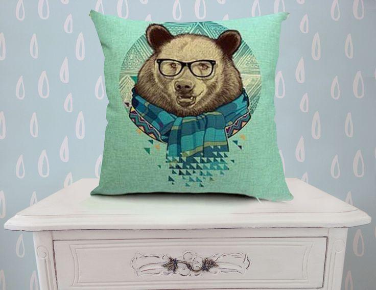 Cojín oso.