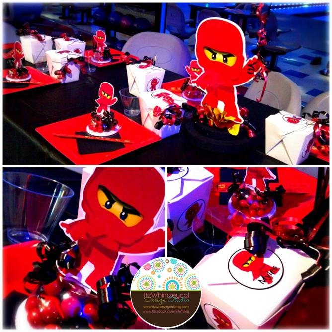 A Lego Ninjago Birthday Party: 53 Best Images About Ninjago On Pinterest