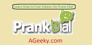 How to get free tokens on Prank Dial?