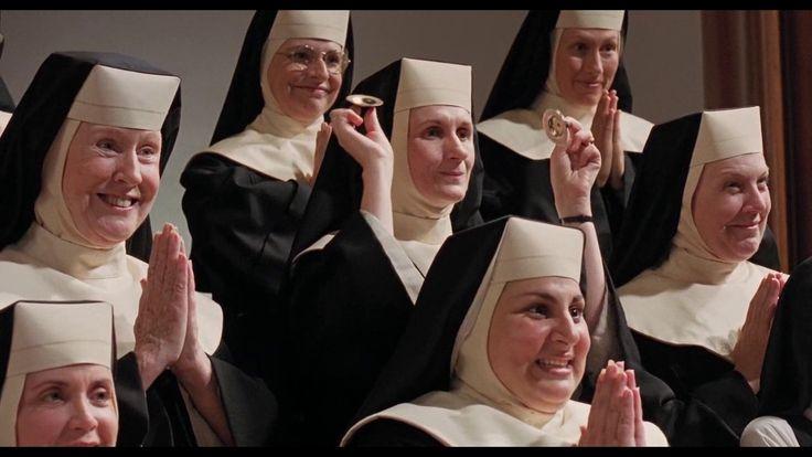 Sister Act 1 & 2 all songs (oryginal version)( Zakonnica w przebraniu 1 ...