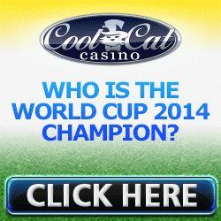 CoolCat Casino World Cup 2014 - No Deposit bonus CodesNo Deposit bonus Codes