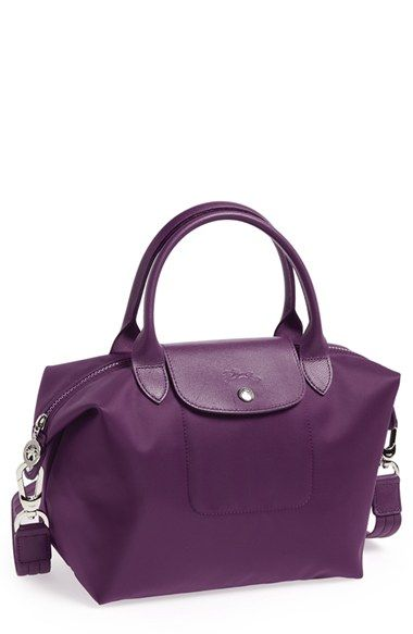 Small purple longchamp tote bag | Shoes and bags | Pinterest | Longchamp, Totes and