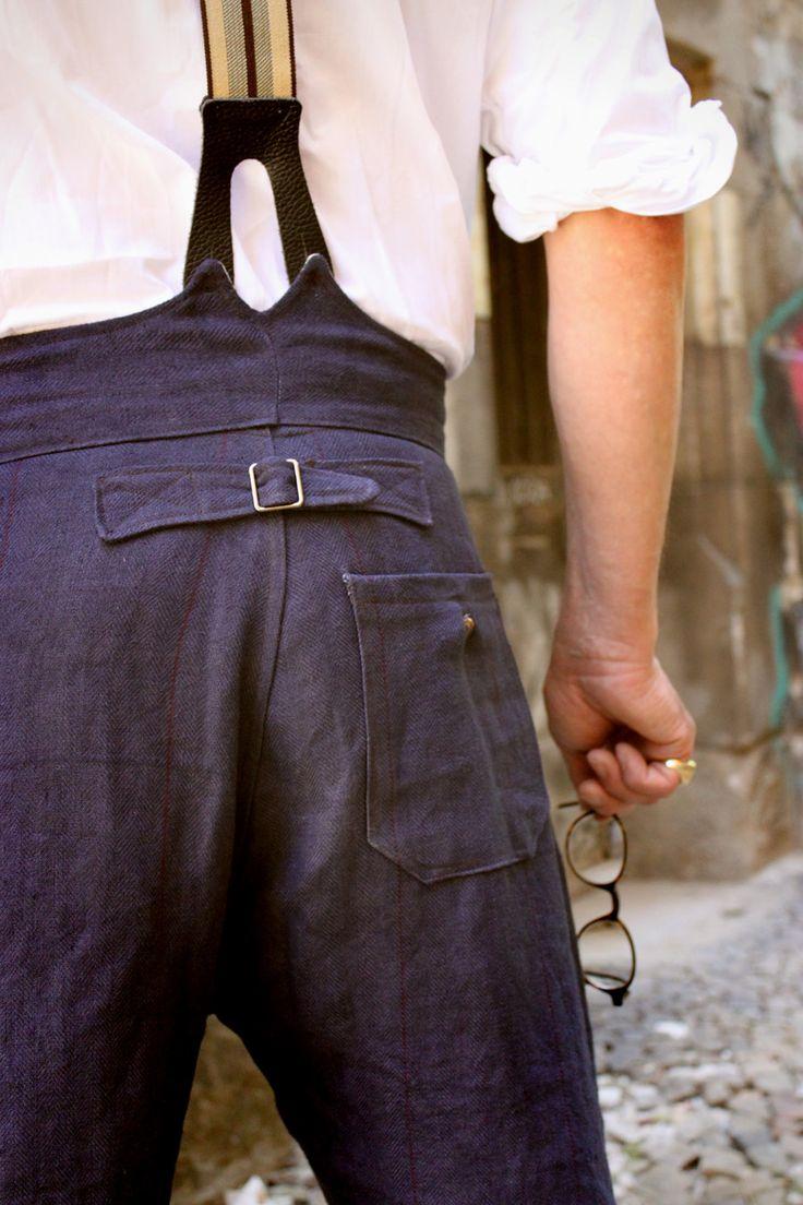 Holger Peckmann - linen trousers