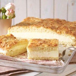 Probieren Sie unbedingt unser Bienstich-Rezept zum Selbermachen. Mit unserer Anleitung gelingt der Kuchen-Klassiker mit feiner Buttercreme und knusprigen Mandeln.