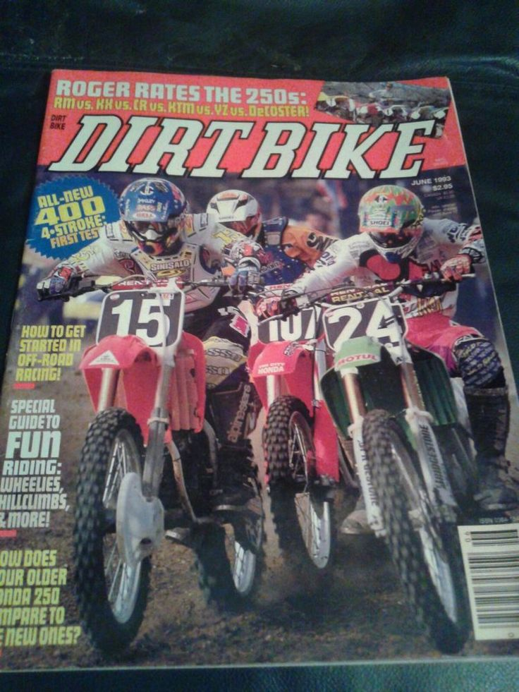 DIRT BIKE Magazine June 1993 Husqvarna 360 WXE   Books, Magazine Back Issues   eBay!