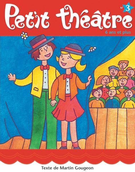 Petit théâtre  Deux pièces :  - Sans fil (15 rôles ou moins)  - Le musée du cirque (14 rôles égaux ou moins)  32 pages, auteur: Martin Gougeon