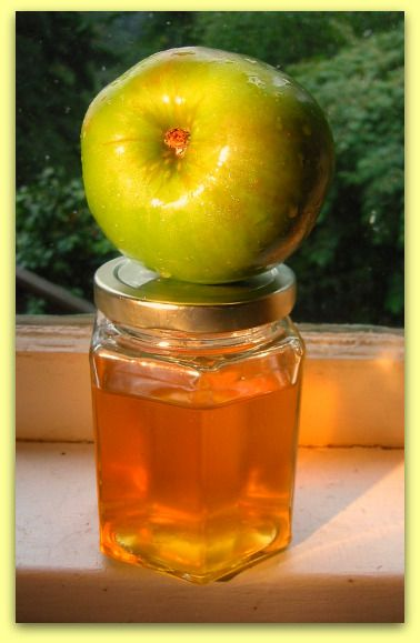 Apple Jelly Recipe: Flavorful Chameleon Apple: Simple to make and can have herbs and spices of your choosing added.
