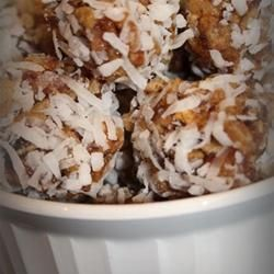 Chewy Coconut Date Delights @ allrecipes.com.au