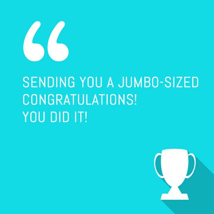 Congratulations You Did It Quotes   www.pixshark.com ...