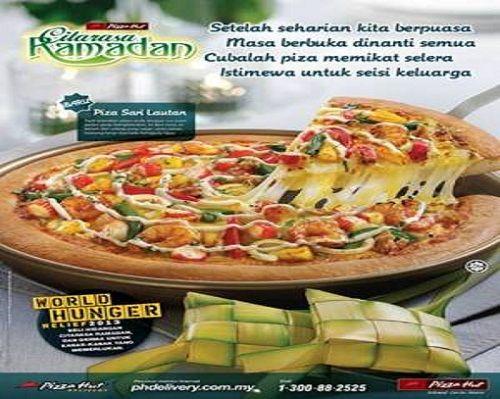 Citarasa Ramadan Blogger - Piza Sari Lautan Dari Pizza Hut Terbaekkk