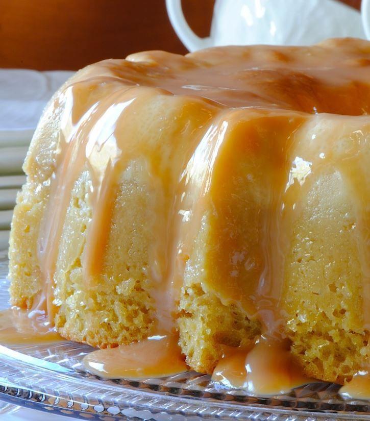 Tres Leches Flan Cake