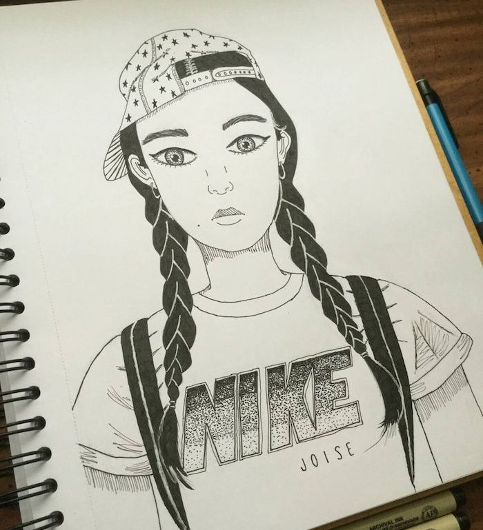 buy new york fresh styles ▷ 1001 + idées pour réaliser un dessin swag - hommage à la ...