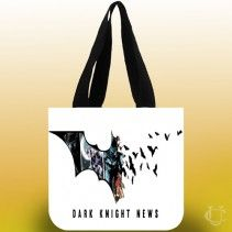 #Batman #dark #night #art #Black #Siluet #Tote #Bags #perfect #and #beautiful #appearance