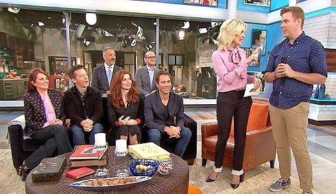 Megyn Kelly's cringeworthy gay joke during Will & Grace segment was a very bad idea!