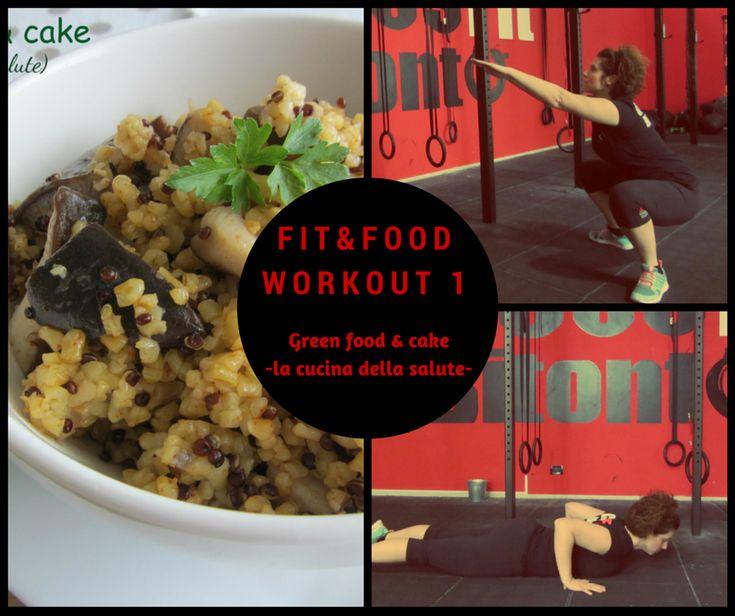 Workout N°1 http://blog.giallozafferano.it/greenfoodandcake/workout-n1/