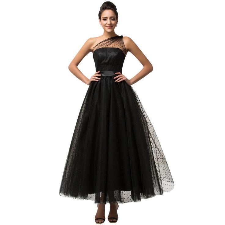 Čierne spoločenské šaty CL007561
