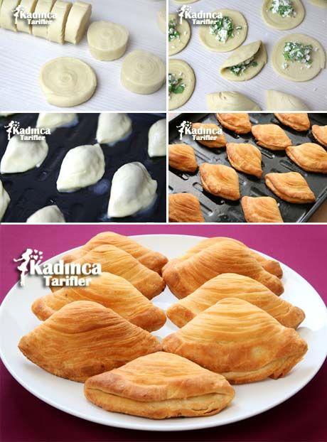 Peynirli Midye Börek Tarifi Kadincatarifler.com - En Nefis Yemek Tarifleri Sitesi - Oktay Usta