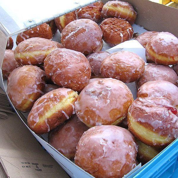 Polish Doughnuts or Bismarcks - Paczki