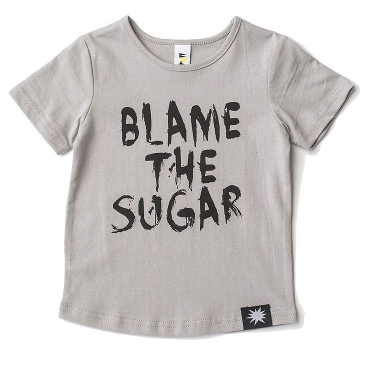 KaPow Kids Blame The Sugar T-shirt